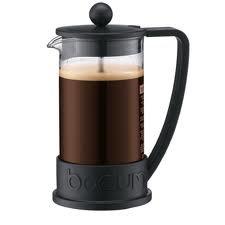 Bodum 10938-01 Frans BRAZIL koffiezetapparaat, 8 kopjes, 1L zwart **U.K.IMPORT**