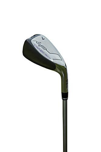 Wilson Staff Launch Pad Set de Palos de Golf para Mujer, para diestros, Varilla de Grafito, 5-PW