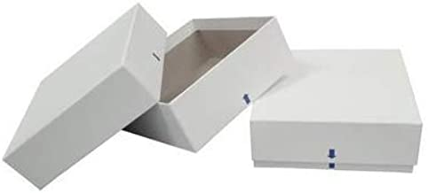 VWR 89214-764 Mechanical Cryogenic Freezer Boxes Without Dividers, No Drain Slots, 13.2 cm Length, 13.2 cm Width, 5.1 cm Height