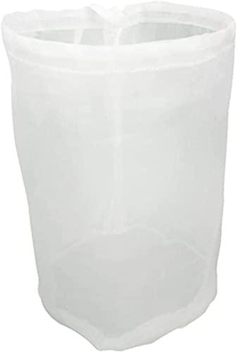 2 piezas Colador Malla Fina, reutilizables de nailon de malla fina,para leche de nueces, bolsas de lúpulo (25×40cm)