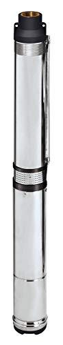 Einhell Tiefbrunnenpumpe GC-DW 1300 N (1300 W, 5.000 l/h max. Fördermenge, 20m max. Eintaucht., Edelstahlgehäuse, Edelstahlsieb, inkl. 22m Ablassseil)