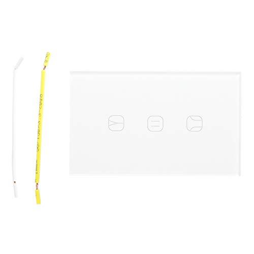 Cocosity Interruptor de Cortina, Interruptor de Cortina Inteligente Duradero, WiFi Inteligente AC100-240V Herramienta remota para el hogar Herramienta remota Cortina para el hogar del Dormitorio