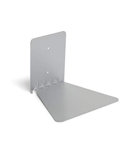 Umbra 330637-560 Mensola Invisibile per Libri Piccola, Argento