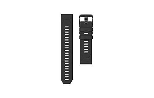 Coros VERTIX GPS Adventure Watch Accessories | Silicone Quick Release Band 22mm (Black)