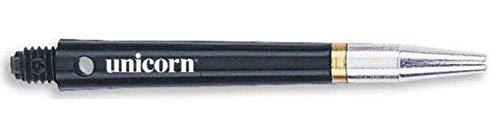 Unicorn Darts Gripper 360 Small Thread Schaft, Black/Ali, One Size/45 mm