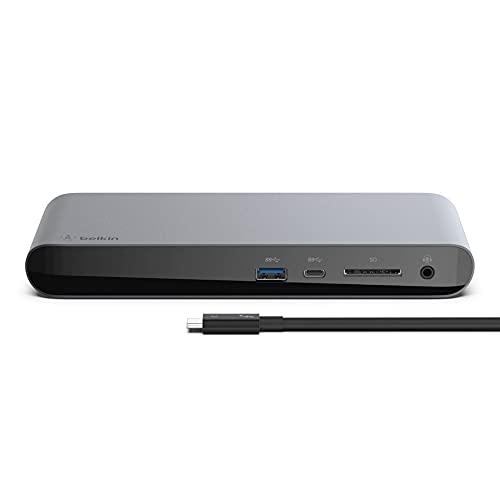 Belkin ドッキングステーション ハブ USB-C Thunderbolt3 Macbook Pro 2020 / Air iPad Pro / M1 iPad Pro ...
