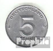 DDR Jägernr: 1502 1949 A sehr schön Aluminium 1949 5 Pfennig Ähre auf Zahnrad (Münzen für Sammler)