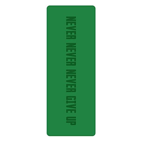XJST Mat de Yoga Que no se sujeta a PU Yoga Mats Ejercicio Mat Eco Friendly Hotlout Mat para Yoga, Alfombrillas de Aptitud de Pilates con Marcas de alineación, con Correa de Transporte,N