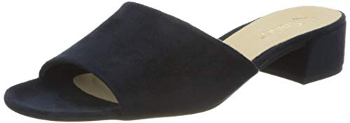 Gabor Damen Fashion 41.7 Pantoletten, Blau (River 46), 40 EU