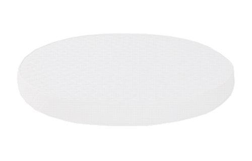 Dibapur ® Pro Vital Orthopädische Ø Runde Kaltschaummatratze (PROVITAL-190) x Kernhöhe 14 cm, mit Standard Bezug ca. 14,2 cm (Made in Germany)
