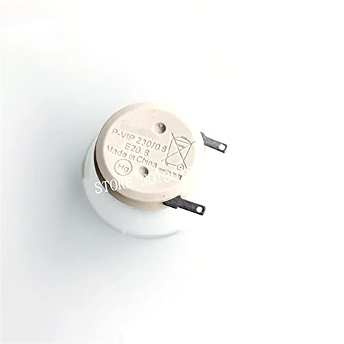 CXOAISMNMDS Lámpara de Bombilla Desnuda Ajuste para OSRAM P-VIP 230/0.8 E20.8 FIT para Ace R Ben Q Ajuste para Optima View Sonic PROYECTOR Reemplazo de la Bombilla del proyector