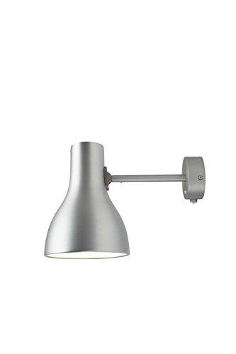 Anglepoise Type75 Mini-Wandleuchte, gebürstetes Aluminium