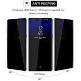 Privacy Screen Protector for Galaxy S8 Plus , Anti Spy 9H Tempered...
