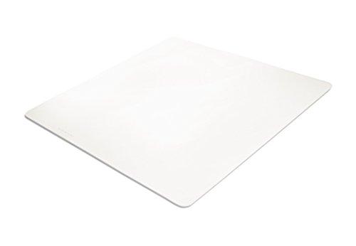 BSM® pour sols durs - Tapis de protection de sol transparent - 12 tailles et formes au choix - Certifié TÜV 110 x 120 cm