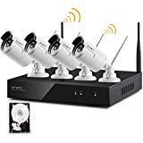XMARTO Wireless Security Camera System Outdoor,...