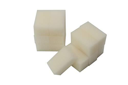 LTWHOME Compatible en Mousseux Filtration Tapis Convient pour Aqua Clear 30/150 AquaClear (Paquet de 12)