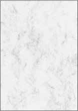 Sigel© Marmor-Papier, grau, A4, 90 g/mý, 25 Blatt