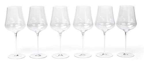 Gabriel Glas 6er Set Weinglas mundgeblasen österreichischer Kristall Weinglas Gold Edition
