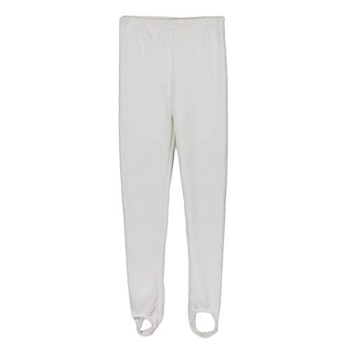 Baoblaze Pantalones Leggings de Terciopelo Térmico para Niñas Chicas Color Sólido