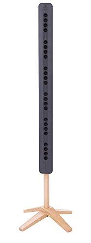 TeqAir450 Geräuschloser und diskreter Luftreiniger | Luftionisator für 50m2 | Made in France | Stromverbrauch fast Null | Keine zu wechselnden Filter | Ideal für große Räume