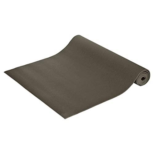 Yogamatte Premium 200 x 80 x 0,45 cm - in Deutschland hergestellt, grau