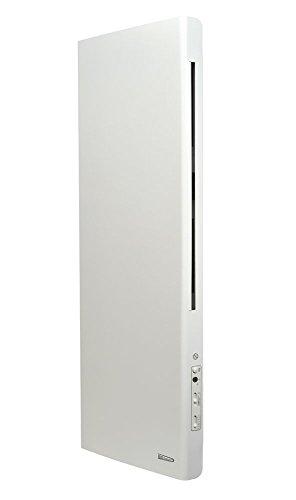 Radialight PRDEK001 Radiatore Elettrico Verticale Deko 1000W Elettrico Eco Riscaldatore Risparmio Energetico Protezione Umidità IP24 Classe II Doppia Funzione Irraggiamento + Convezione