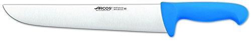 Arcos Serie 2900, Cuchillo Carnicero, Hoja de Acero Inoxidable Nitrum de 300 mm, Mango inyectado en Polipropileno Color Azul