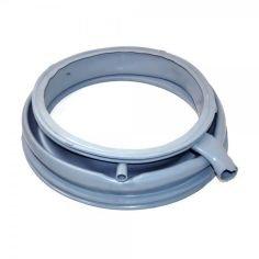 EVH-XTRA® Türmanschette, Türdichtung passend für Bosch, Siemens wie Ersatzteil-Nr. 681210, 685487 ; 2 Stutzen
