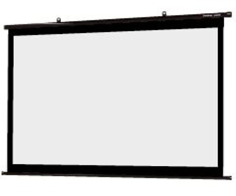 オークション光景適度なシアターハウス プロジェクター スクリーン 掛け軸タイプ (16:9) ブラックマスク (120インチ)日本製 BTP2657WEM