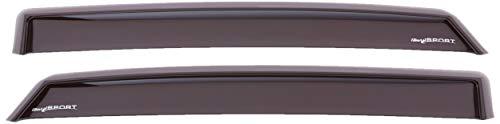 ClimAir M2056 Fensterblenden Master Dark (hinten) kompatibel mit Hyundai i30 (PDE) Fastback 5-Türer 2018, dunkel