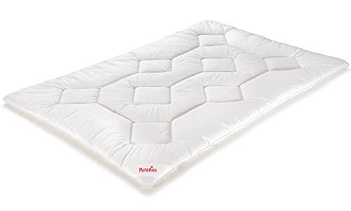 PARADIES Prima Bio - Bettdecke 135x200 cm - Ganzjahresdecke, Öko-Tex Zertifiziert Standard 100 Klasse 1, medizinisch getestet, Atmungsaktive Ganzjahresbettdecke, Schlafdecke