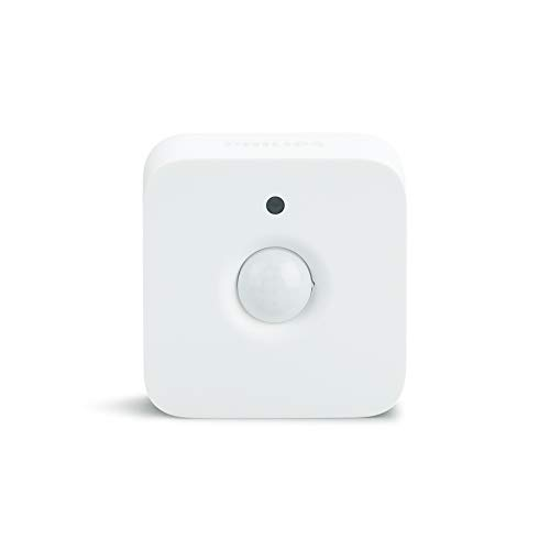 Philips Hue Indoor Motion Sensor for Smart Lights (Requires Hue Hub, Installation-Free, Smart Home, Exclusively for Philips Hue Smart Bulbs)