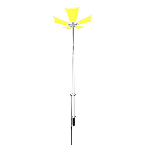 CONPEX Beautiful Camping Lights , Super Bright Removable Street Lamp 110W 11000 Lumen 12V Telescopic Portable , Outdoor Travelling Work Site lighting Backyard Emergency