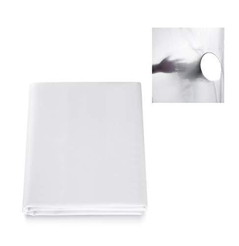 Selens 2x1,7M Diffusor Stoff Nylon Seide Weiß Diffusion Nahtloser Lichtmodifikator für Fotografie Beleuchtung, Softbox und Lichtzelte
