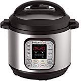 Instant Pot DUO60 6 Qt 7-in-1 Multi-Use Programmable Pressure Cooker, Slow Cooker, Rice Cooker, Steamer, Sauté, Yogurt Maker and Warmer (Renewed)