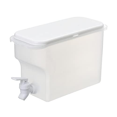 Hervidor frío 3.5L jarra de agua con grifo de agua fría botella tetera tetera de jugo de limón jabalizas de jarra de jarra de cáaches de utensilios de bebida del contenedor de la jarra resistente al c