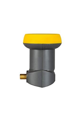 Humax LNB 113 Gold Digitales Single Universal LNB für 1 Teilnehmer (inkl. Wetterschutztülle, 40mm Feed, HDTV)