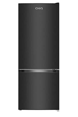 CHiQ Freistehender Kühlschrank mit Gefrierfach 205L | Kühl-Gefrierkombination | Moderne Low-frost Technologie