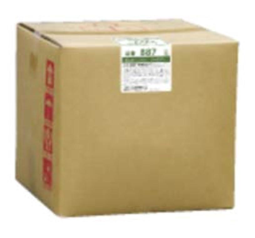 行商人手数料スペルフタバ化学 スパジアス シャンプー 18L 詰め替え 800ml専用空容器付 黒糖と蜂蜜