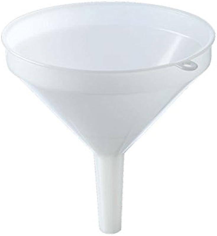 Funnel 30 Cm 12 In White Plastic