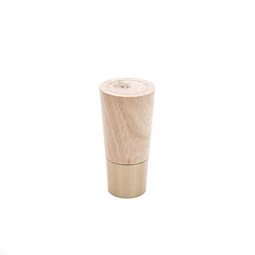 YXB Massief hout bank voet TV kast voet meubilair koper hout voet salontafel voeten tafel benen Chinese nachtkastje benen