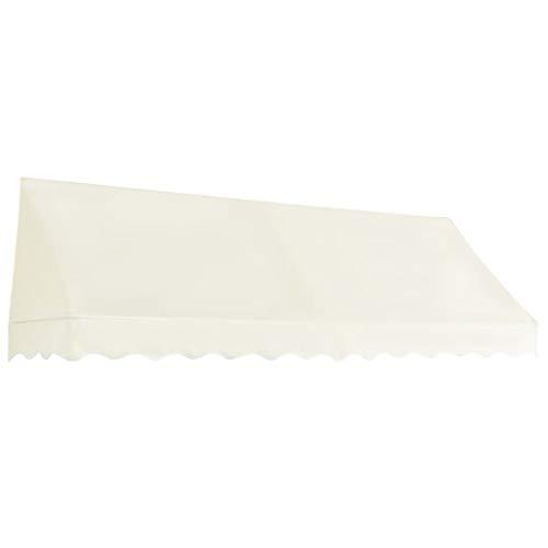 Lasamot Toldo Bistro, Bistro Awning Sunshade Shelter Outdoor 300x120 cm Crema