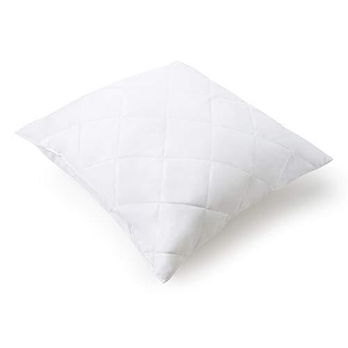 Mister Sandman Essential+ Kissen aus Mikrofaser, Premium Kopfkissen, samtig weich, für einen gesunden Schlaf (versteppt, 40 x 40 cm)