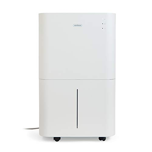 VonHaus 20L/Day Dehumidifier – Large Air Treatment System – Extracts Damp & Moisture – For Spaces Up To 35m² – Ideal For Garages, Offices, Workshops & Homes