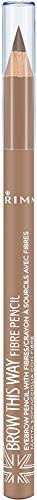 Rimmel London Brow This Way Fibre Pencil Lápiz de Cejas Tono 1 - 1.08 gr