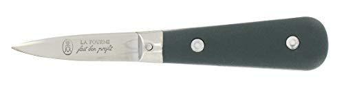 Couteau à huitres La Fourmi - Manche polypro noir