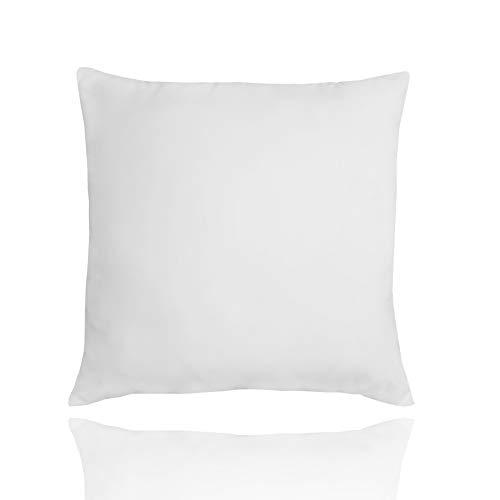 LILENO HOME 1er Set Kopfkissen 80x80 cm - waschbares u. atmungsaktives Allergiker Kissen fürs Bett - Microfaser Kissen80x80 cm für den perfekten Schlafkomfort - tolles Kinder Bettkissen 80x80 cm
