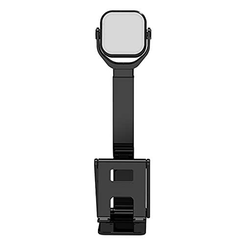 MERIGLARE Soporte Universal Plegable para Smartphone, Tableta Ajustable con Lámpara LED