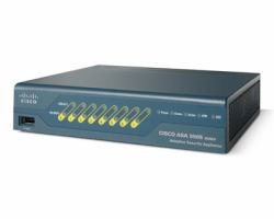 Cisco ASA 5505 Unlimited-User Security Plus Bundle Includes 8-Port Fast Ethernet Switch, 25 IPsec VPN Peers, 2 SSL VPN Peers, DMZ, stateless Active/Standby high Availability, DES License