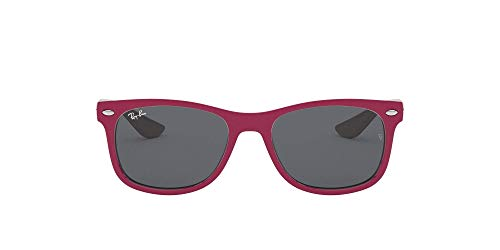 Ray-Ban Wayfarer Junior Gafas de sol, Top Red Fuxia on Gray, 47 Unisex-Niño